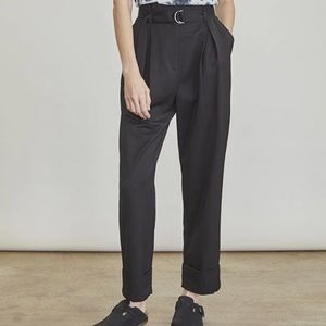 NWT Elizabeth and James Rock Casual Paperbag Pant